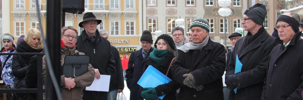 Namens- und Dokumentenlesung für die Euthanasie-Opfer in München